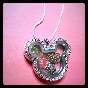 Disney DCL Oragomi Type Necklace Darth